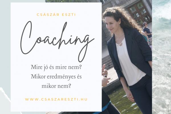 Mire jó a coaching és mire nem?